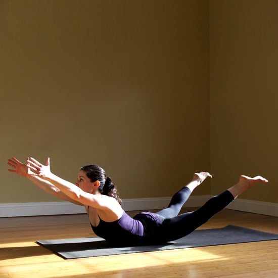 Extended Locust Pose