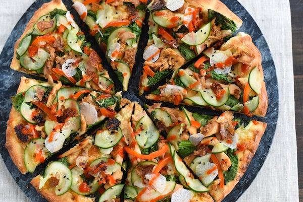 Teriyaki Turkey Pizza