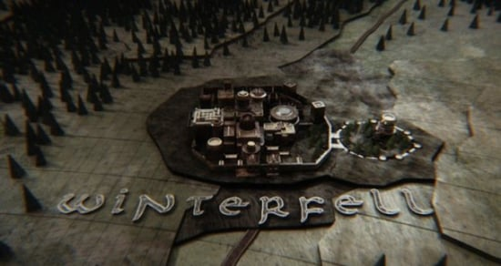 'Game of Thrones' Opening Credits Sequence Gets a 3D/VR Makeover