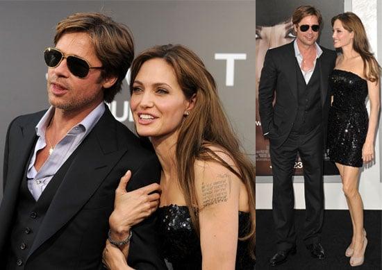 Pictures from the Salt Premiere Brad Pitt, Angelina Jolie, Jon Voight, Naomi Watts, Liev Schrieber