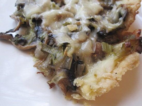 Mushroom and Leek Tart