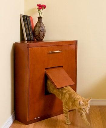 Corner Litter Cabinet: Spoiled Sweet or Spoiled Rotten?