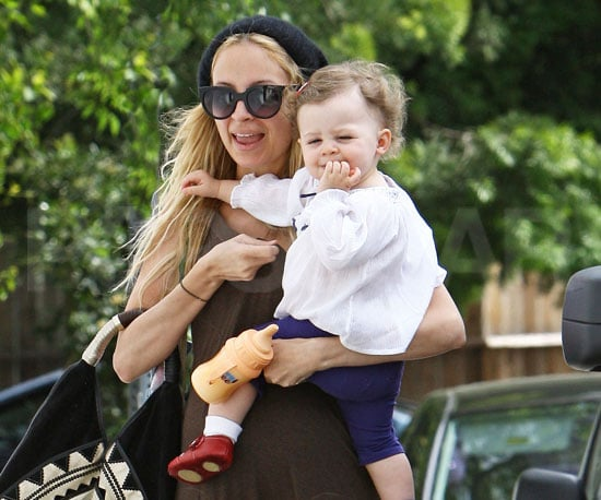 Photo of Nicole Richie and Harlow Madden Out in LA