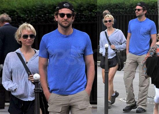 Pictures of Bradley Cooper and Renee Zellweger in Paris