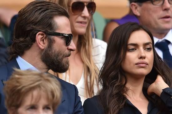 It Sure Looks Like Bradley Cooper Upset His GF At Wimbledon