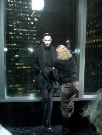 First Look: Karlie Kloss, Anna Jagodzinska Shoot Donna Karan Fall 2010 Campaign