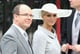 Prince Albert and Charlene Wittstock were among the many royal guests at Prince William and Kate Middleton's wedding.  Source: Getty / Chris Jackson