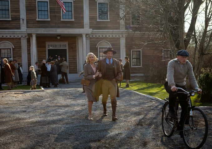 Jennifer Lawrence and Bradley Cooper star in Serena. Source: 2929 Entertainment