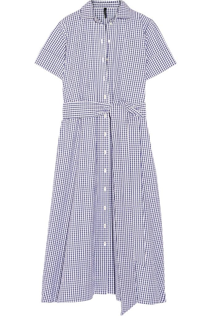 Lisa Marie Fernandez Gingham cotton shirt dress ($495)