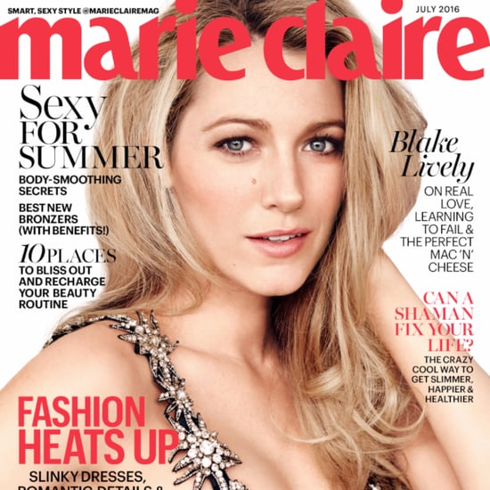 Blake Lively on Marie Claire July 2016