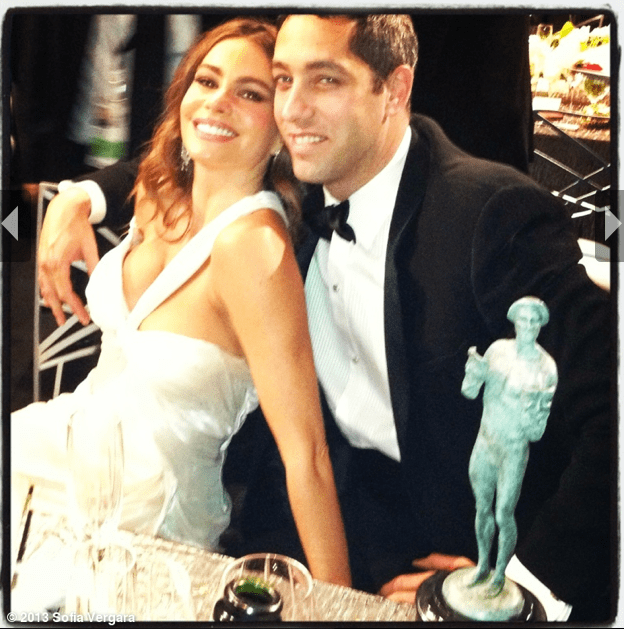 A stunning shot of Sofia Vergara and her fiancé, Nick Loeb. Source: WhoSay user Sofiavergara