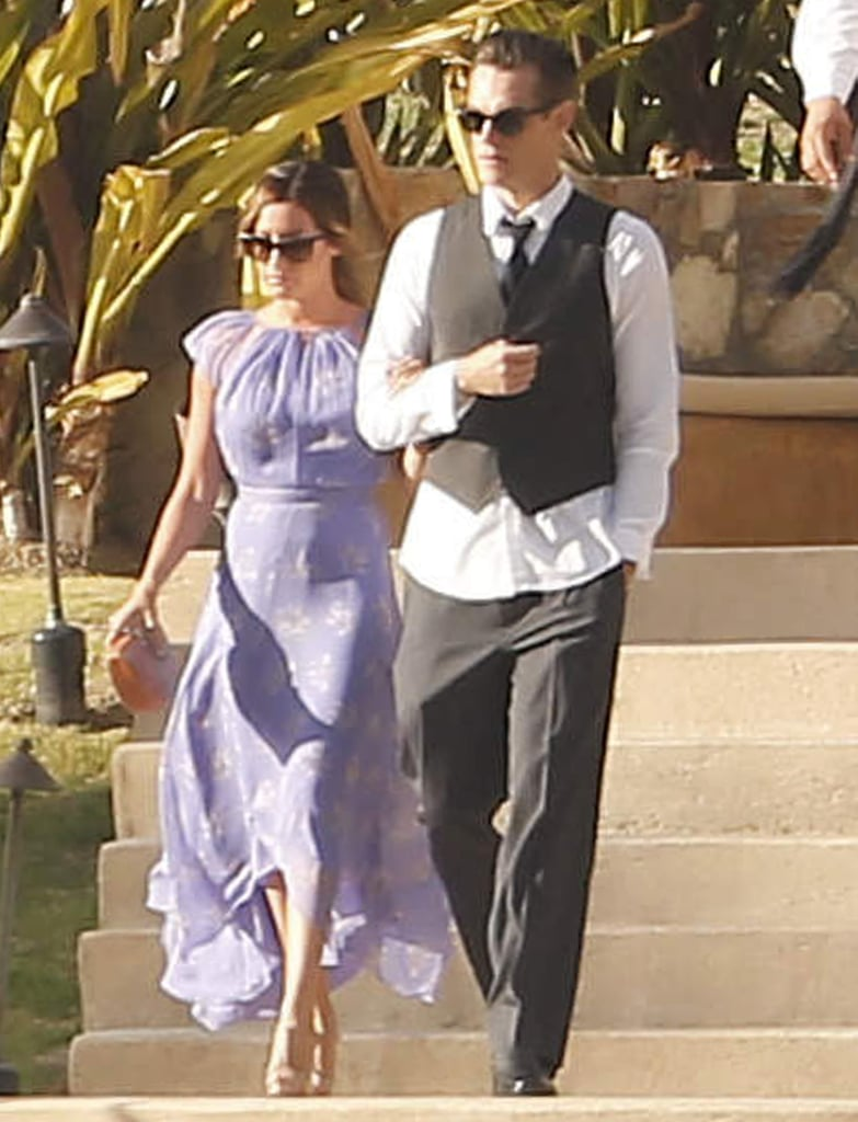 Ashley Tisdale and her boyfriend Christopher French jetted to Cabo San Lucas in April 2013 for a friend's exotic ceremony.