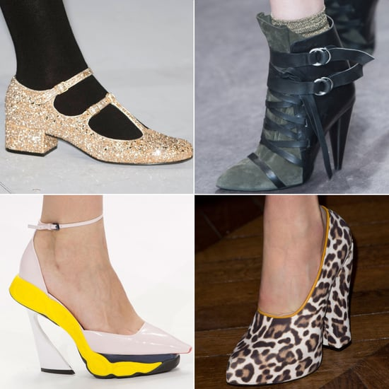See Paris Fashion Week's Latest Runway Shoes
