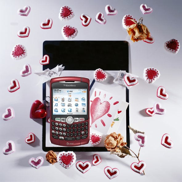 Red Cell Phones for Valentine's Day
