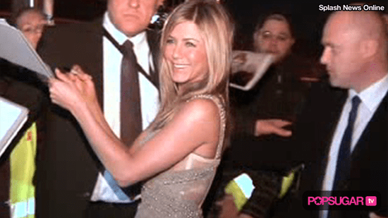 Jennifer Aniston on the Red Carpet