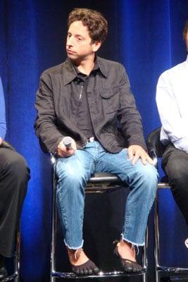 Sergey Brin's Five Finger Shoes