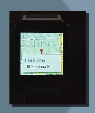 Google Maps Navigation in Android Wear.