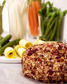 Cheddar Cheese Ball With Rioja