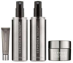 Sunday Giveaway! Sephora Brand: Anti Shine Primer, Setting Mist, Radiance Mist, and Wrinkle Filler