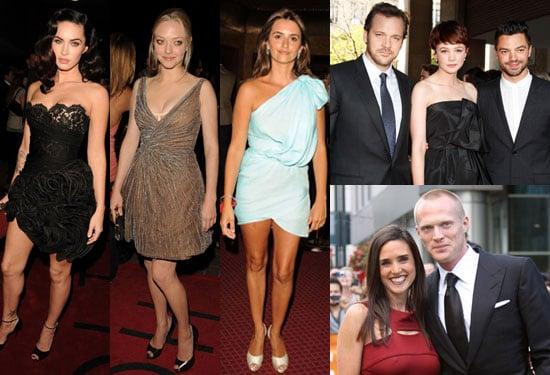 Photos of Amanda Seyfried, Megan Fox, Adam Brody, Dominic Cooper, Jennifer Connelly, Penelope Cruz at Toronto Film Festival