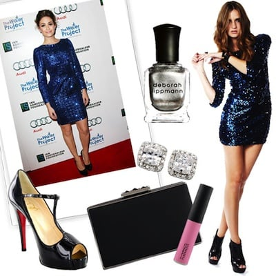 New Year's Eve Outfit Inspired by Emmy Rossum