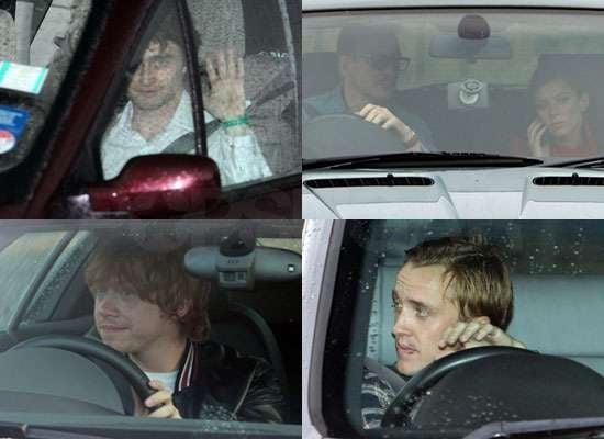 Pictures of Daniel Radcliffe, Tom Felton, Rupert Grint, David Thewlis, Anna Friel at Harry Potter Wrap Party