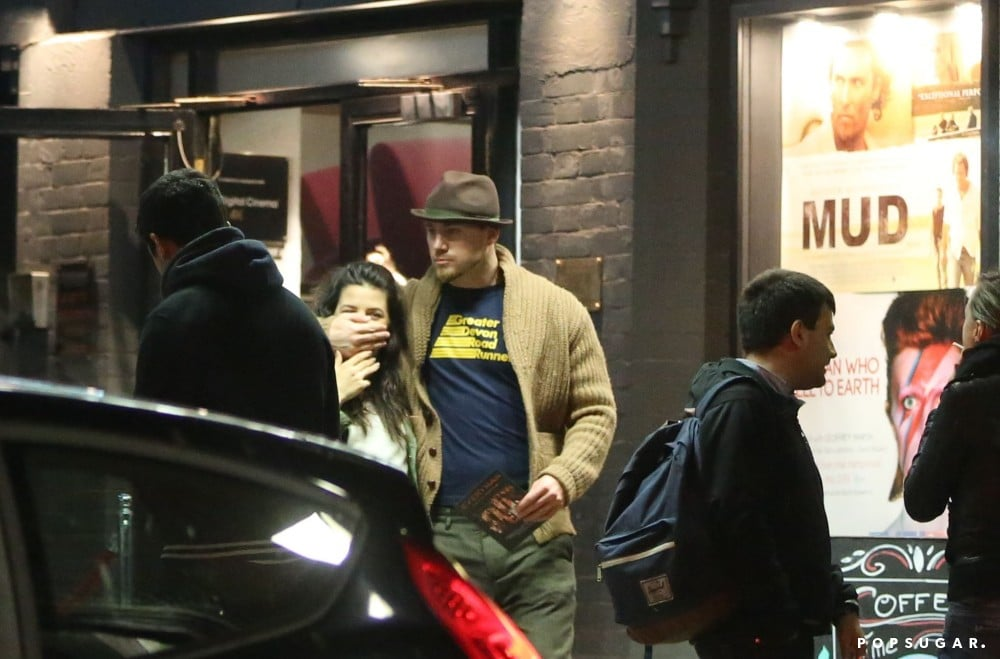 Channing Tatum joked with his wife, Jenna Dewan, after a movie date.