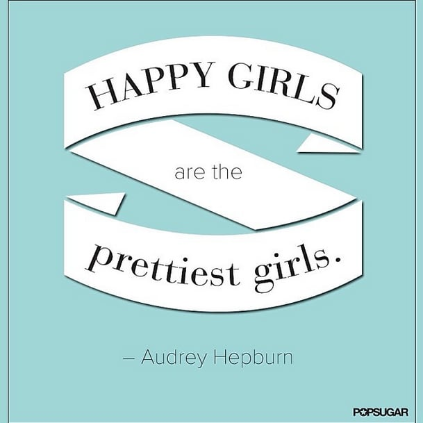 We already know that inspirational quotes are popular on Pinterest and Facebook, but this Audrey Hepburn quote a winner on Instagram, too.