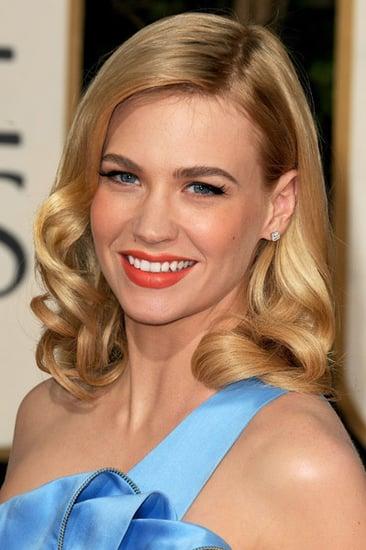 Golden Globes Hair Trends: Retro Hair