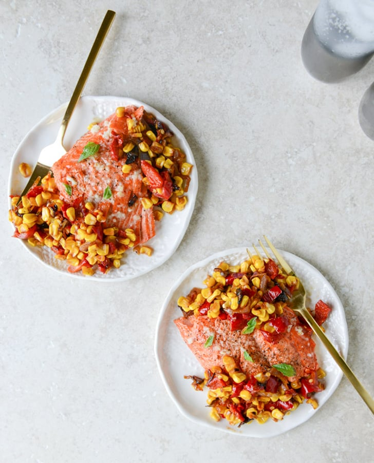 Garlic Butter Salmon With Caramelized Shallot Relish | 29 ...