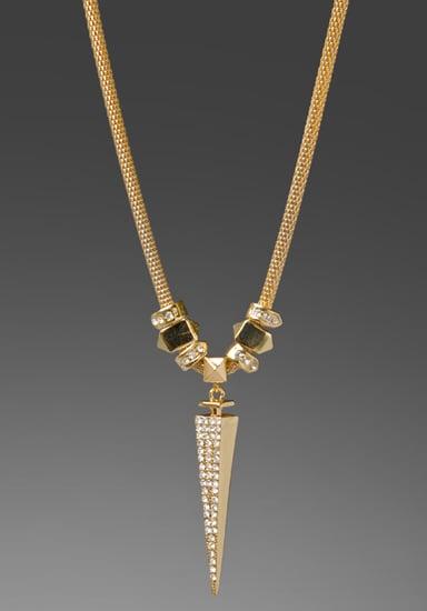 BELLE NOEL Dagger Pendant in Gold at Revolve Clothing - Free Shipping!