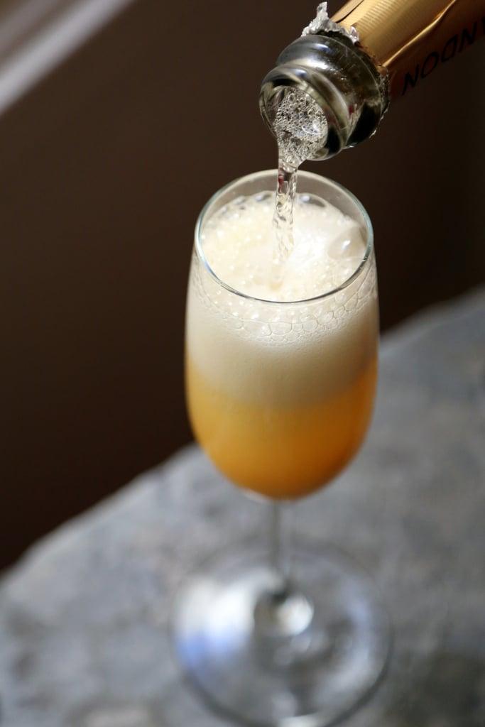 Grapefruit-Mango Mimosa