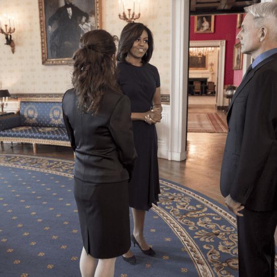 Michelle Obama's NCIS Dress