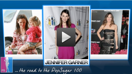 Jennifer Garner's a Movie Star, Mom, and PopSugar 100 All-Star!
