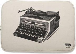 Thomas Paul Luddite Typewriter Print Laptop Sleeve For Sale