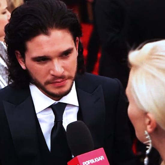 Kit Harington Interview at the Emmys 2013