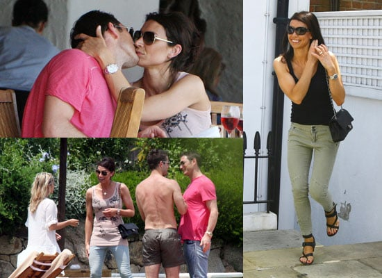 Pictures of Frank Lampard and Christine Bleakley Kissing on Holiday in Sardinia With Redknapps Engagement Ring Rumours Denied 2010-06-30 08:00:00