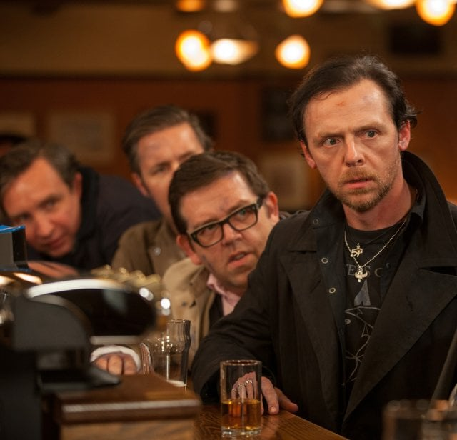 The World's End  Who's starring: Simon Pegg, Nick Frost, and Martin Freeman Why we're interested: The witty UK comedians follow in their Shaun of the Dead footsteps with another funny sci-fi flick that promises plenty of one-liners as the group goes on an apocalyptic pub crawl. When it opens: Aug. 23 Watch the trailer for The World's End.