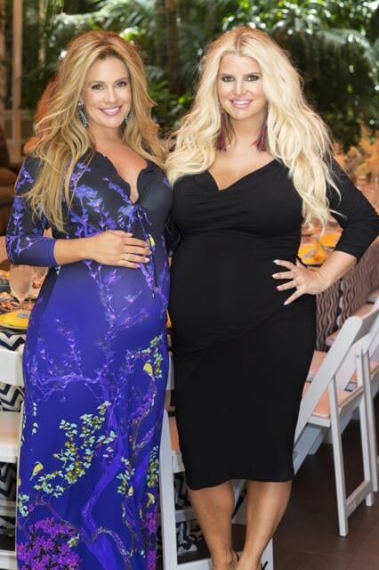 Jessica Simpson threw her best friend, CaCee Cobb, a baby shower in June.  Source: Twitter user caceecobb