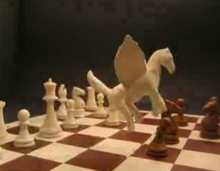 Claymation Chess Game