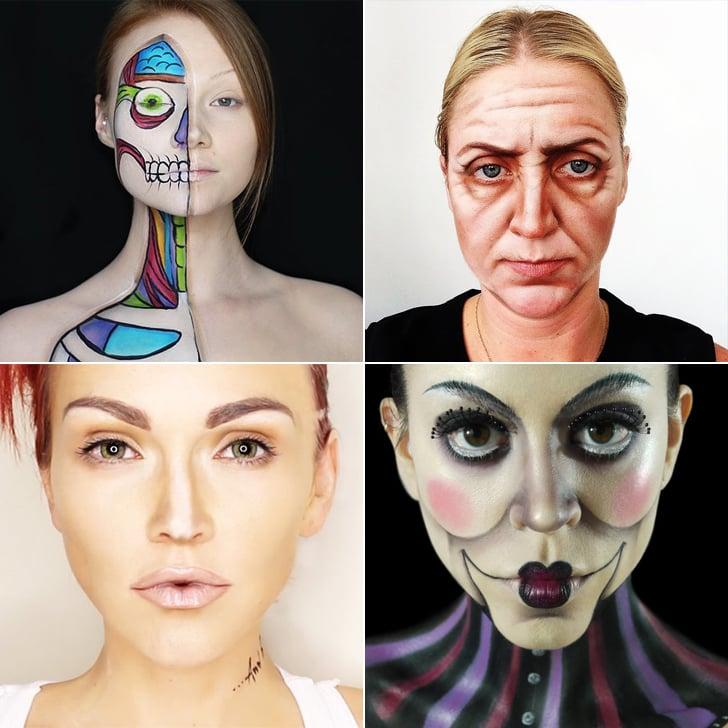 Makeup Only Halloween Costumes POPSUGAR Beauty - Makeup Based Halloween Costumes