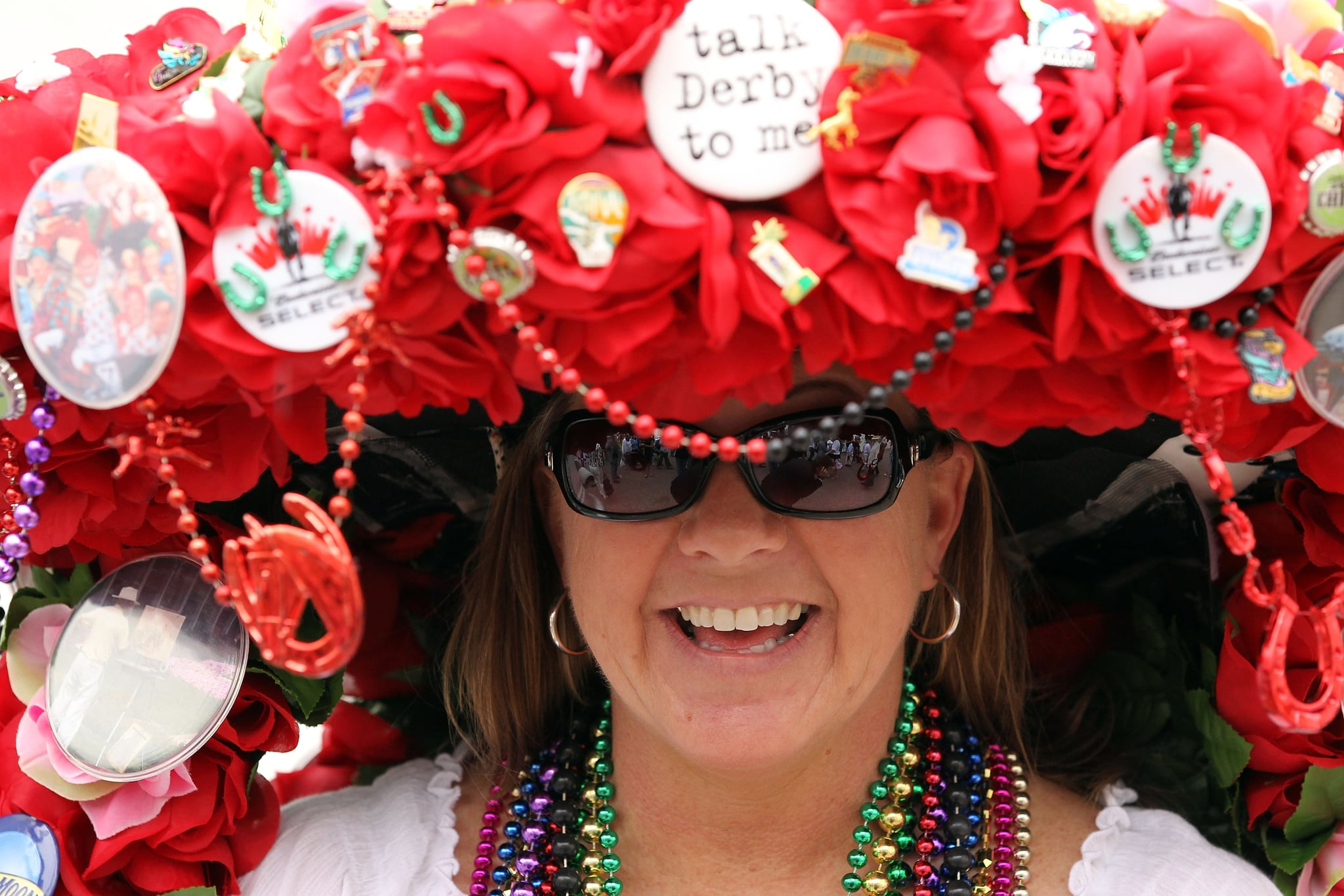 """In 2011, this hat asked people to """"talk Derby to me."""""""