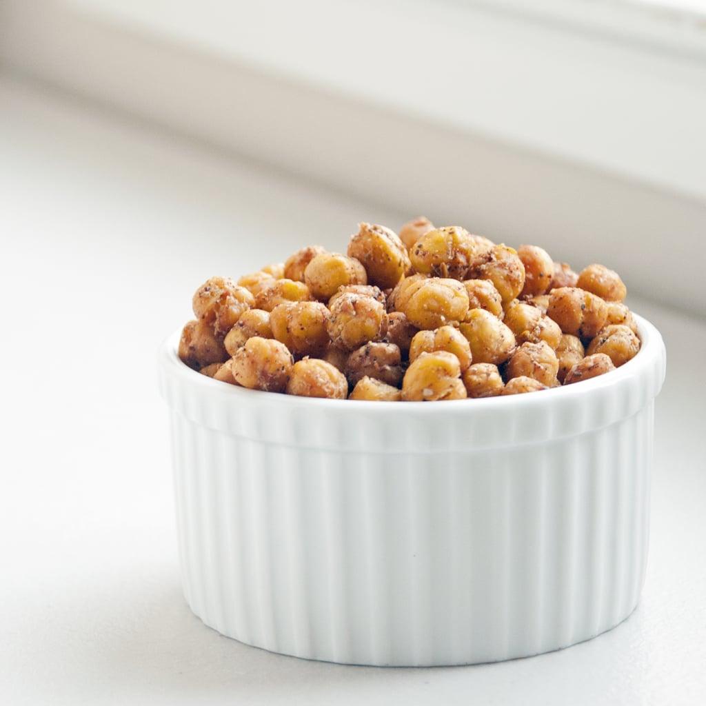 Mediterranean-Spiced Roasted Chickpeas