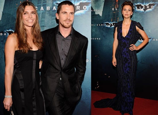 Photos of Aaron Eckhart, Christian Bale and Maggie Gyllenhaal at the Barcelona Premiere of The Dark Knight