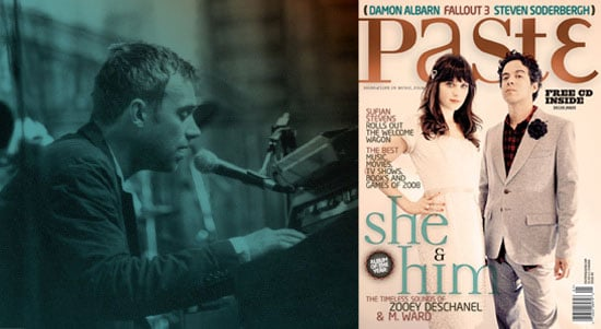 Photos and excerpts from Damon Albarn's interview in Paste magazine