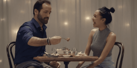 Strangers Were Asked To Feed Each Other To See If They'd Fall In Love. It Was Magic.