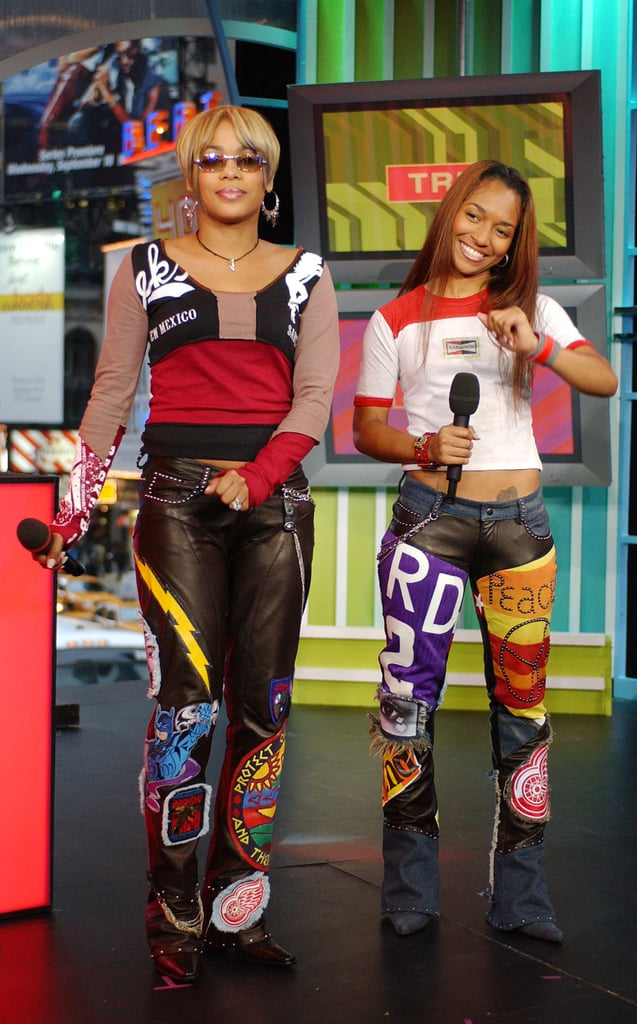 T-Boz and Chilli of TLC made an appearance on TRL in 2002.