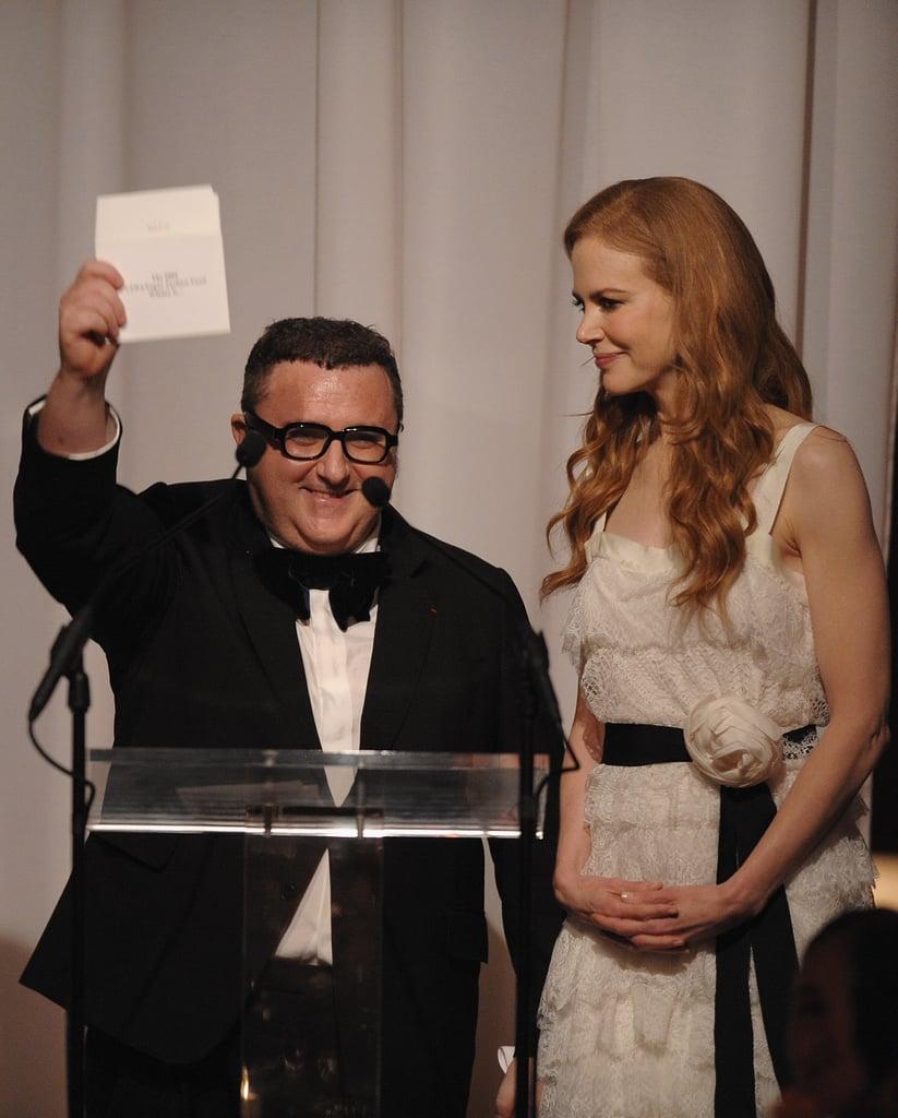 Alber Elbaz, Nicole Kidman