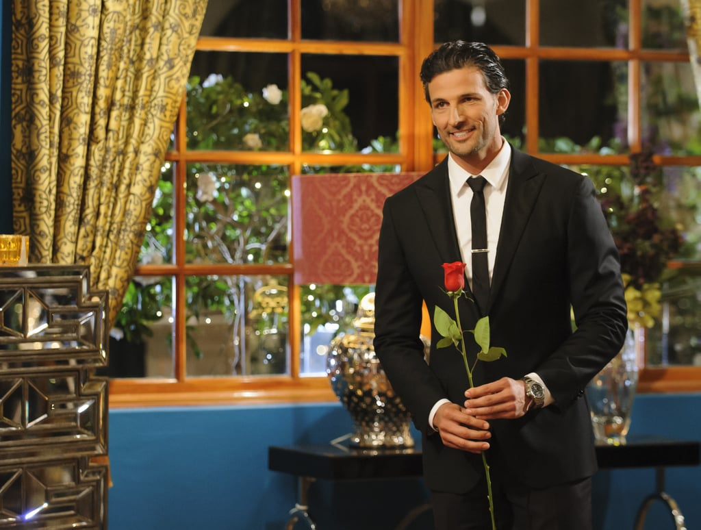 Tim at the first rose ceremony.