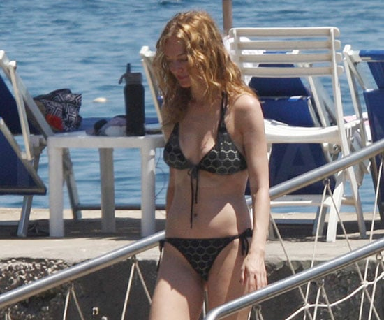 Slide Picture of Heather Graham Wearing Bikini in Ischia, Italy